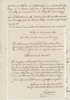 Orbey Service Funèbre Louis XVI Les Deux Courriers - Documents Historiques