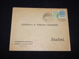 Finland 1915 Censored Business Cover__(L-12483) - 1856-1917 Russian Government