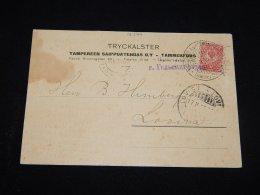 Finland 1915 Censored Card__(L-12499) - 1856-1917 Russian Government