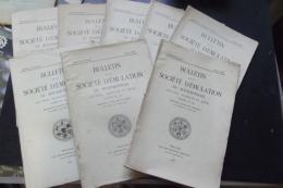 Bulletin De La Societe D'emulation Du Bourbonnais  1945-47-48-49 8 Vol - Documents Historiques