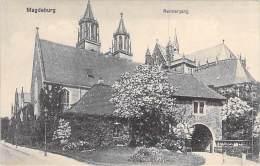 DEUTSCHLAND Allemagne ( Saxe Anhalt ) MAGDEBURG : Remtergang - CPA - Germany - Magdeburg