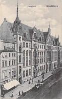 DEUTSCHLAND Allemagne ( Saxe Anhalt ) MAGDEBURG : Hauptpost - CPA - Germany - Magdeburg