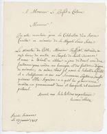 Sainte Suzanne Célébration D'un Service Funèbre Louis XVI - Documents Historiques