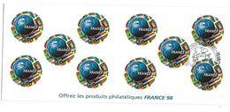 FRANCE - BANDE CARNET NON PLIEE N° BC3140 ** Avec Cachet 1er Jour - Neufs