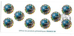 FRANCE - BANDE CARNET NON PLIEE N° BC3140 ** Avec Cachet 1er Jour - France