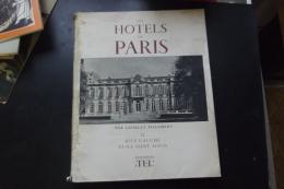 Les Hotels De Paris Pillement II Rive Gauche Et Ile St Louis - Livres, BD, Revues