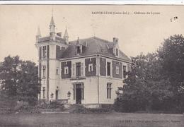 44. SAINTE LUCE. CPA. CHATEAU DU LYNAU. ANNEE 1912 - Otros Municipios