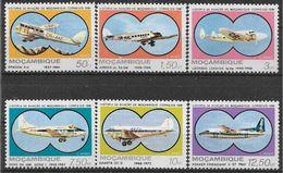 1981 MOZAMBIQUE PA 40-45** Avions - Mozambique