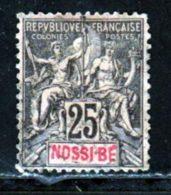 Nossi-Be 1894 Yvert 34 (o) B Oblitere(s) - Nossi-Bé (1889-1901)