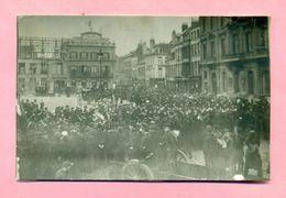 PHOTOGRAPHIE - DUNKERQUE - OBSEQUES / FUNERAILLES D'ALBERT SAUVAGE ( 1911 ) Ou DU CAPITAINE ADIGARD ( 1907 ) Pl J BART - Lieux