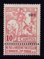 N° 98  X - 1910-1911 Caritas