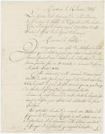 Mandeure Porrentruy 1815 Service Funèbre Louis XVI - Documents Historiques