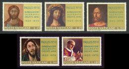 Vatican 1970 Yvert 505 / 509 ** TB Bord De Feuille - Vatican
