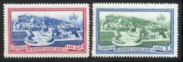 Vatican Express 1945 Yvert 5 / 6 ** TB Bord De Feuille - Exprès