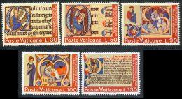 Vatican 1972 Yvert 542 / 546 ** TB - Vatican