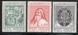 Vatican 1972 Yvert 549 / 551 ** TB - Vatican