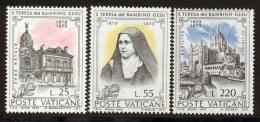 Vatican 1973 Yvert 555 / 557 ** TB Bord De Feuille - Vatican