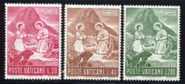 Vatican 1965 Yvert 438 / 440 ** TB Bord De Feuille - Vatican