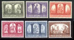 Vatican 1966 Yvert 451 / 456 ** TB - Vatican