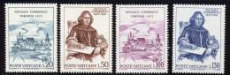 Vatican 1973 Yvert 558 / 561 ** TB - Vatican