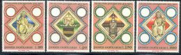 Vatican 1973 Yvert 562 / 565 ** TB Bord De Feuille - Vatican