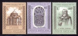 Vatican 1973 Yvert 566 / 568 ** TB Coin De Feuille - Vatican