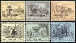 Vatican 1975 Yvert 594 / 599 ** TB Bord De Feuille - Vatican