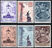 Vatican PA 1967 Yvert 47 / 52 ** TB - Poste Aérienne