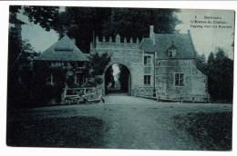 Bornem 8  L'entree Du Chateau - Bornem