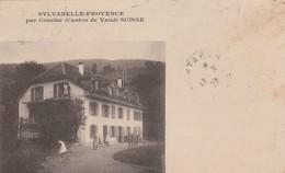 CPA SUISSE SYLVABELLE PROVENCE  Par CONCISE - VD Vaud