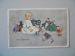 C P A  ILLUSTRATION SATIRIQUE BABYS UNTERTANEN   CIRCULEE 1913 - Sonstige