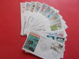 TERRES AUSTRALE 1 Lot D'enveloppes 1er Jours De L' Année 1989 - Stamps