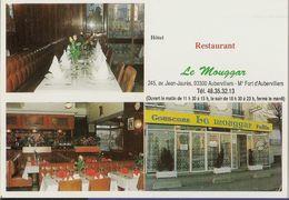 Calendrier De Poche Restaurant Le Mouggar à Aubervilliers (93) - Petit Format : 1991-00