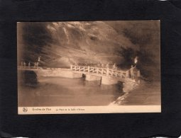 """75789     Belgio,  Grottes De Han,  Le Pont De La Salle D""""Armes,  NV - Rochefort"""