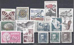 Schweden Mix Set Stamps Of Sweden Suède Suecia Svezia Zweden Small Selection Of Fine Used 851 - Schweden