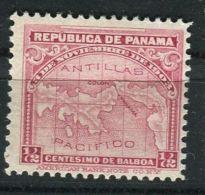 PANAMA ( POSTE ) : Y&T  N°  105  TIMBRE  NEUF  AVEC  TRACE  DE  CHARNIERE , A  VOIR . - Panama