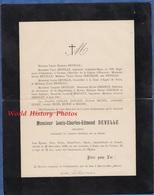 Document De 1909 - BAR LE DUC / PARIS - Louis Charles Edmond DEVELLE , Sénateur De La Meuse , Président Conseil Général - Documents Historiques
