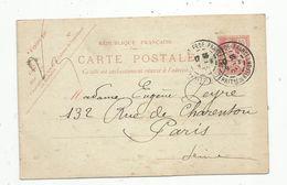Sur Carte Postale , ENTIER POSTAL, 10, 1903 ,  BELFORT , Fg. DE FRANCE - Entiers Postaux