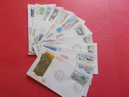 TERRES AUSTRALE 1 Lot D'enveloppes 1er Jours De L' Année 1990 - Stamps