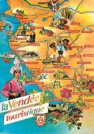 85 - Vendée - Carte Géographique - Voir Scans Recto-Verso - Frankrijk
