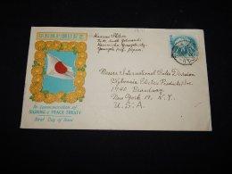 Japan 1951 Peace Treaty Cover__(L-12131) - 1926-89 Empereur Hirohito (Ere Showa)