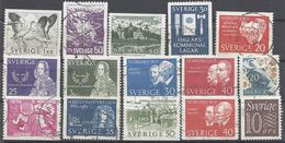 Schweden Mix Set Stamps Of Sweden Suède Suecia Svezia Zweden Small Selection Of Fine Used 861 - Schweden