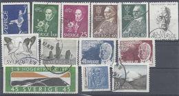 Schweden Mix Set Stamps Of Sweden Suède Suecia Svezia Zweden Small Selection Of Fine Used 863 - Schweden