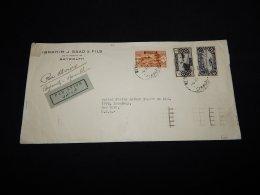 Lebanon 1936 Beyrouth Air Mail Cover To USA__(LB-20) - Lebanon
