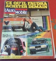 L'Automobile N°353 Novembre 1975 Peugeot 604, Les Buggy,Bol D'Or Moto, Yamaha 650, Record Vitesse Bonneville Lac Salé - Auto/Motor