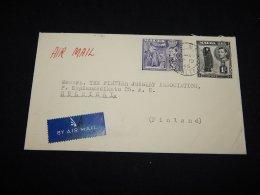 Malta 1946 Air Mail Cover To Finland__(L-11120) - Malta (...-1964)