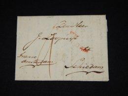 Netherlands 1813 Prephilately Letter__(L-11215) - Niederlande