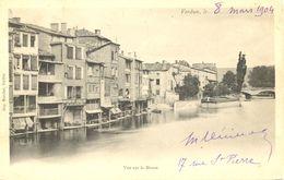 France - Meuse - Verdun - Vue Sur La Meuse - Imprimerie Marchal Verdun - Ecrite, Timbrée - 4548 - Verdun