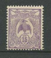CALEDONIE 1905 N° 93 * Neuf MH Trace De Charnière TTB  Cote 1.20 € Faune Oiseaux Le Cagou Birds Animaux - Nouvelle-Calédonie