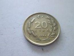 TURKEY 1984  20 LIRA - Turchia